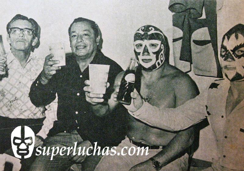 Brujo Duarte, Miguel Camarena, Huracán Ramírez y Solar