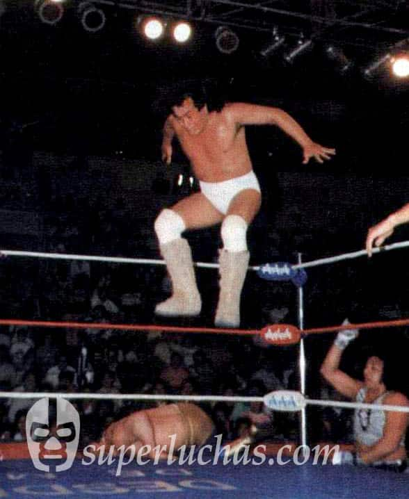 Perro Aguayo vs. Máscara Año 2000