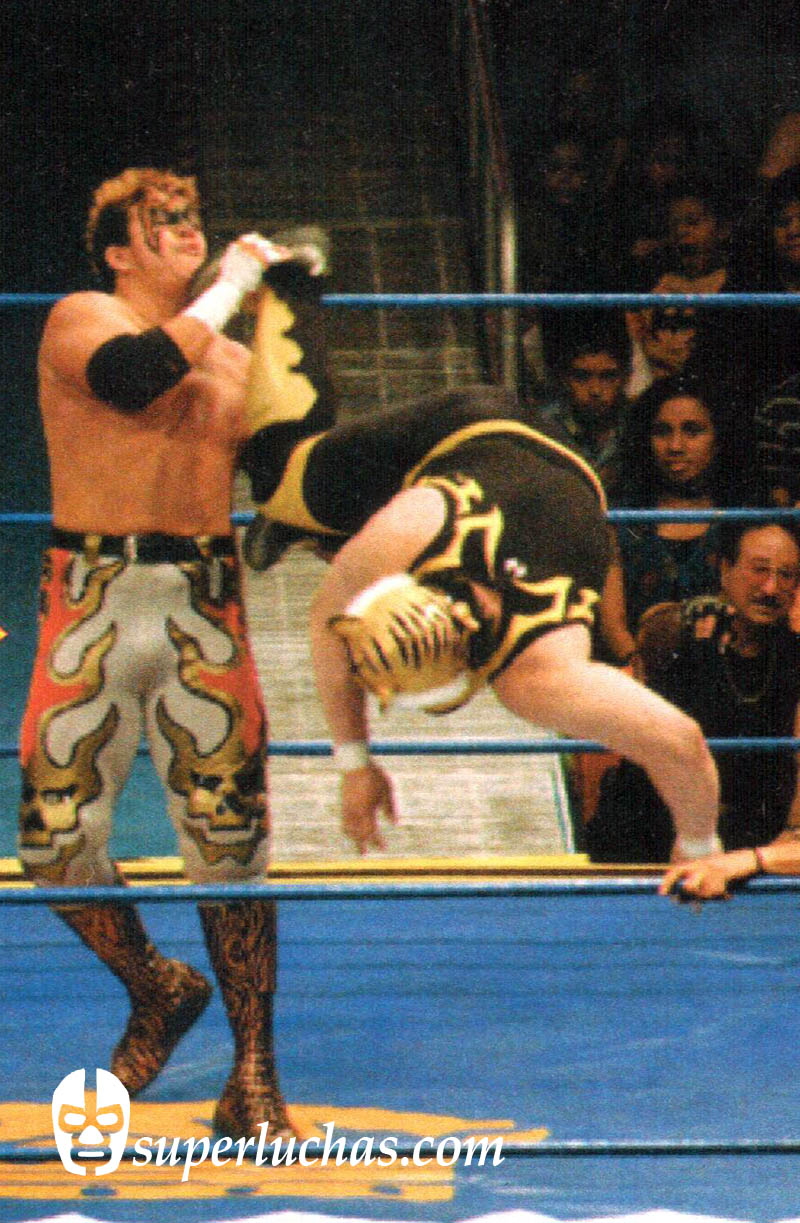 The First Tiger Mask vs. Rey Bucanero