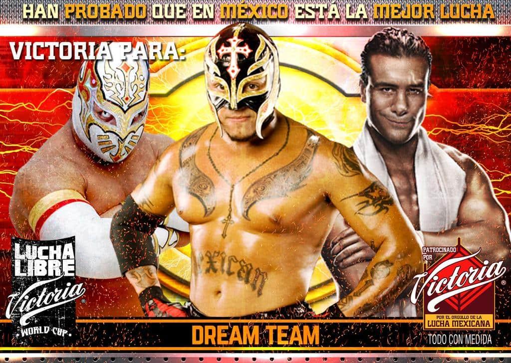 El Dream Team victorioso en la Lucha Libre World Cup 4