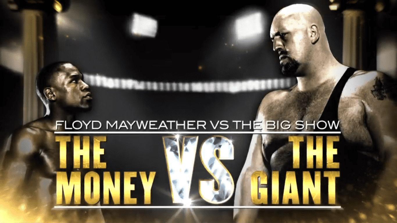 Floyd Mayweather vs. The Big Show - Captura de pantalla de WWE Network