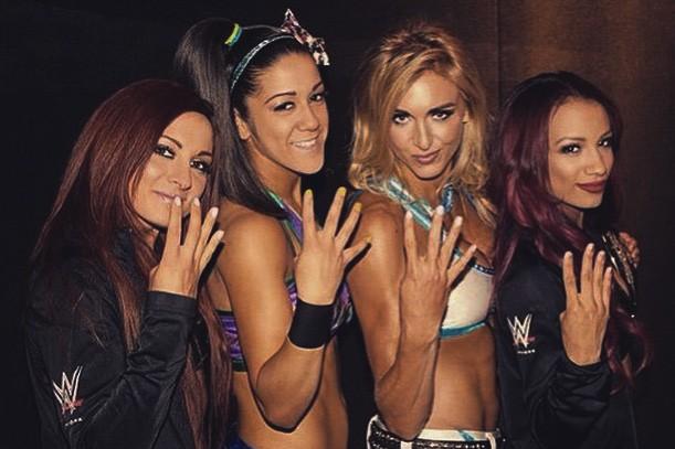 La revolución femenina de NXT: Becky Lynch, Bayley, Charlotte y Sasha Banks - instagram.com/wwebeckylynch