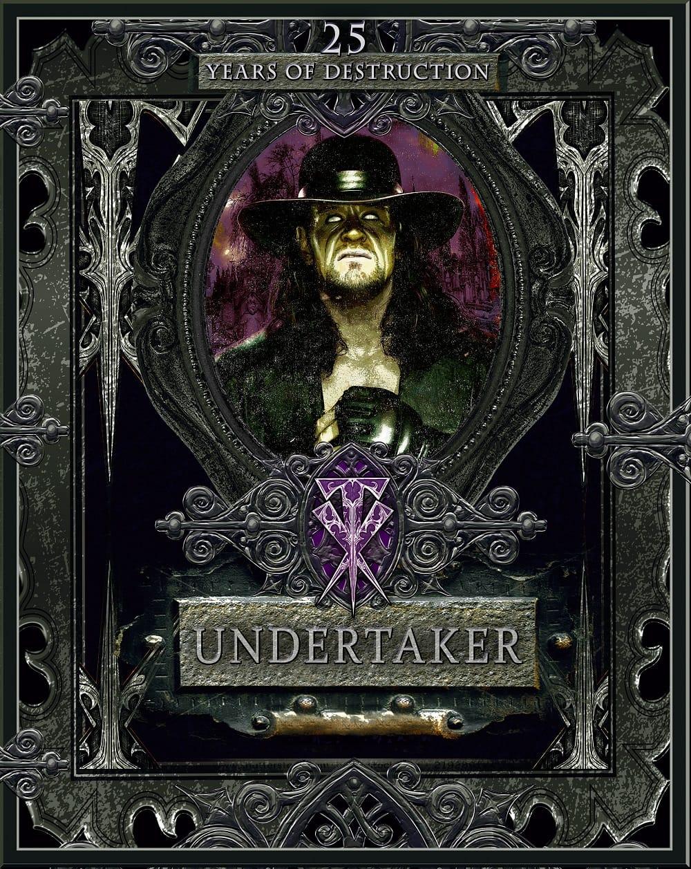 Portada de Undertaker: 25 Years of Destruction