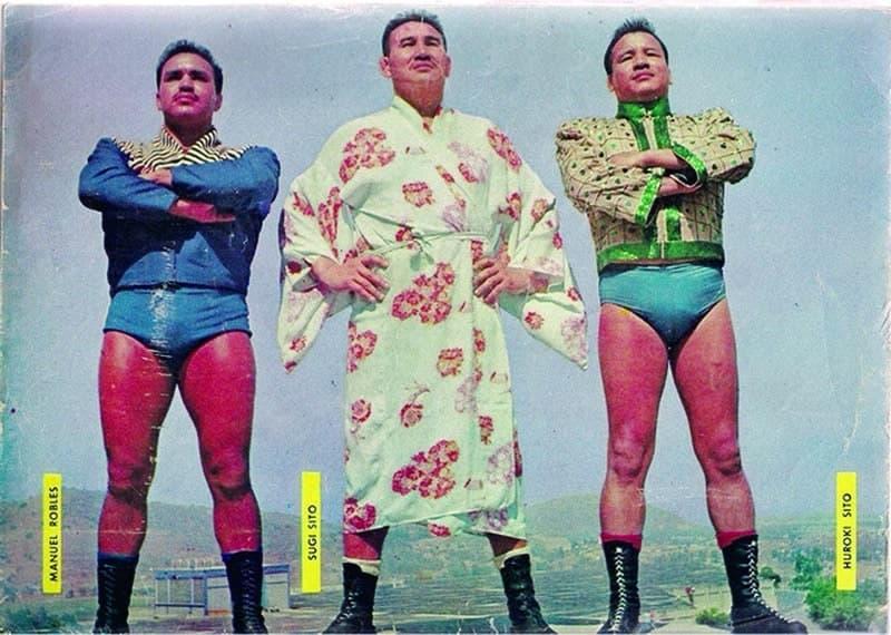 Manuel Robles, Sugi Sito y Huroki Sito.