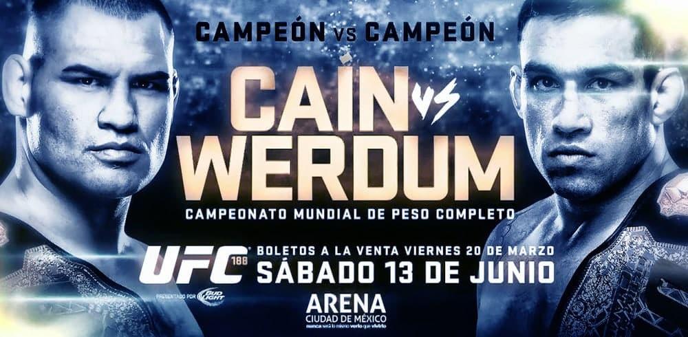UFC 188: Caín Velásquez y Fabricio Werdum en números 8
