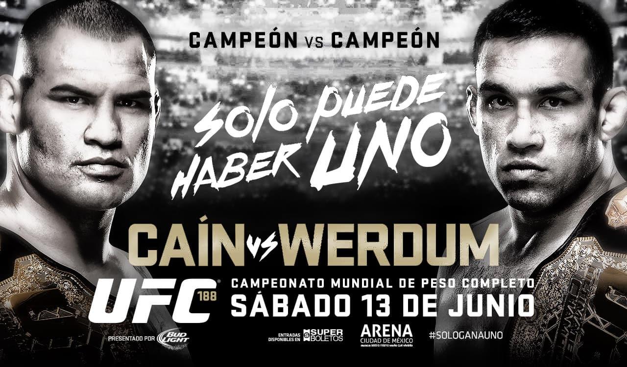 Qué hay en juego en la pelea entre Caín Velásquez y Fabricio Werdum 9