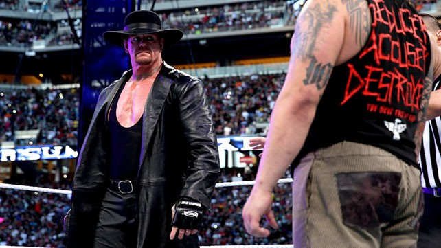 The Undertaker vs. Bray Wyatt