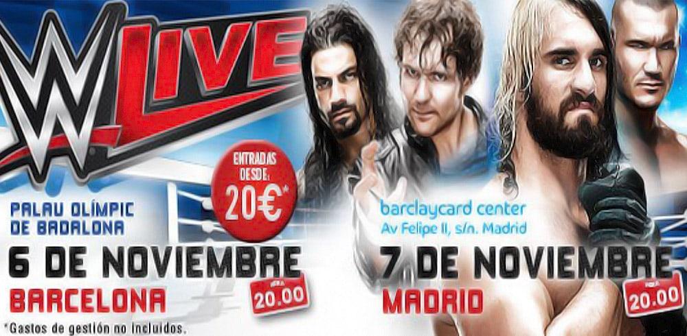 En noviembre, WWE regresa a España 1