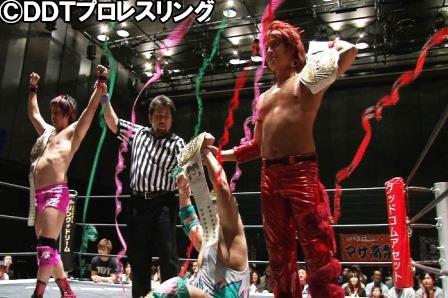 "DDT: Resultados ""Road to Ryogoku 2015 in Sendai - Dramatic Dream Tan"" - 04/05/2015 1"