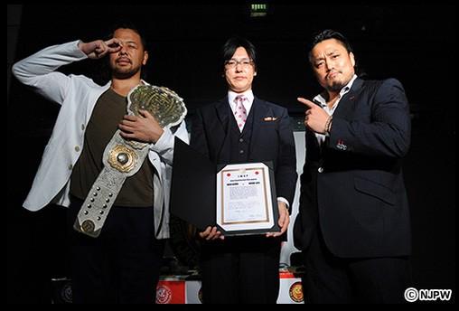"""NJPW: Firma pública de contratos para """"Wrestling Dontaku 2015"""" 3"""