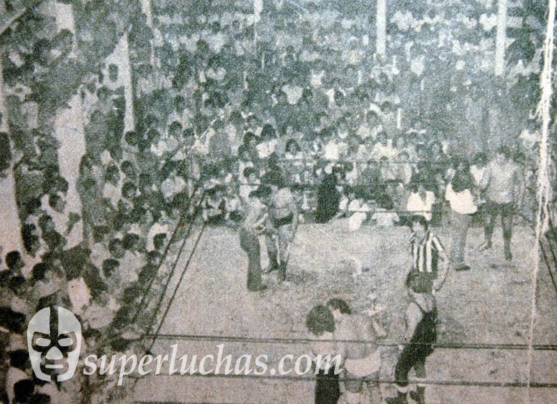 Black Shadow en la Arena San Juan Pantitlán