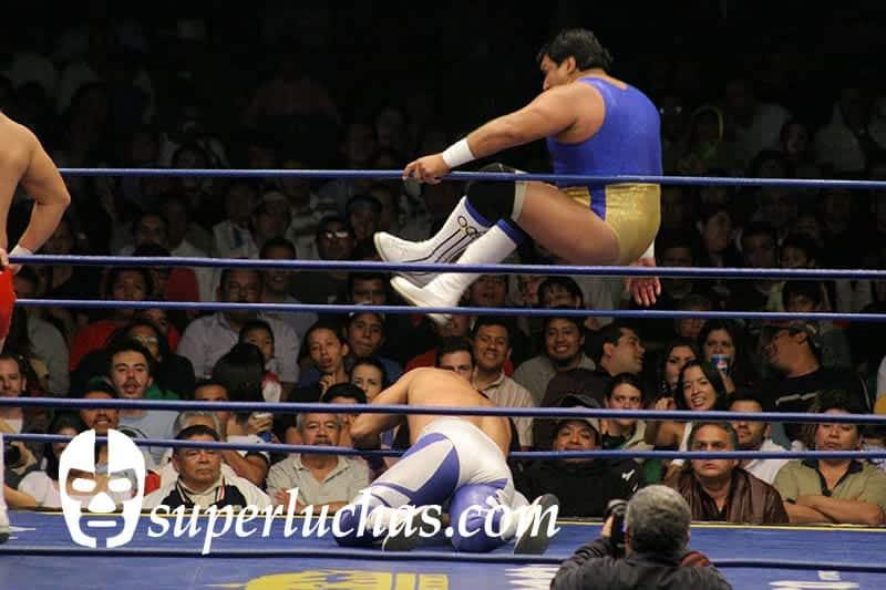 Ray Mendoza Jr. vs. Blue Panther