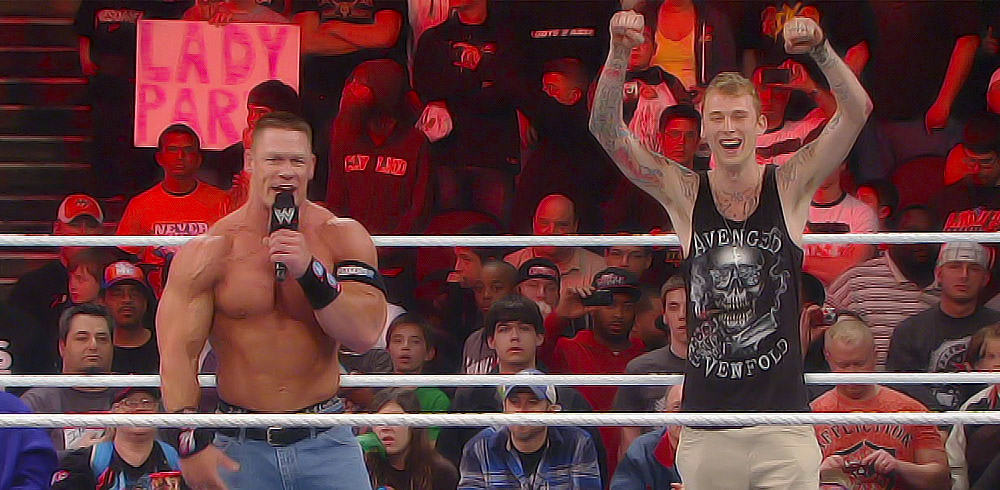 John Cena y Machine Gun Kelly