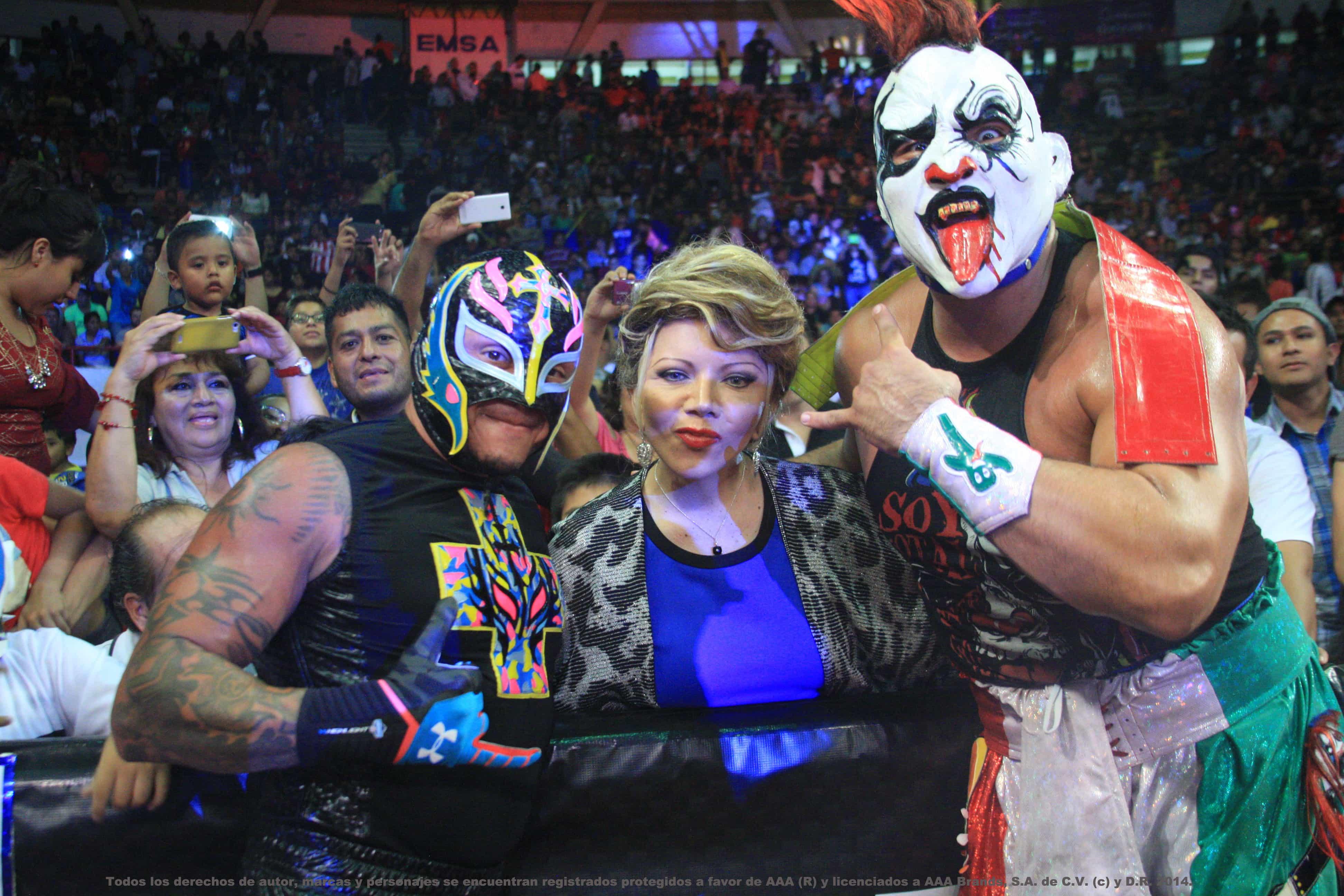 AAA: Resultados en Orizaba - 28/06/2015 - Gran regreso de Rey Mysterio Jr. 19