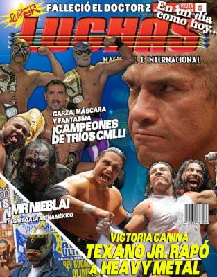 En un día como hoy... 2008: Heavy Metal, rapado en Infierno en el Ring... AAA celebra Triplemanía XVI 7