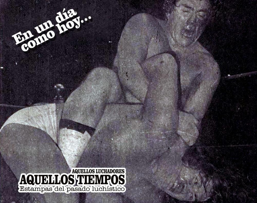 En un día como hoy... 1980: René Guajardo rapa al Perro Aguayo... 2009: La Parkita y Espectrito II son asesinados 3