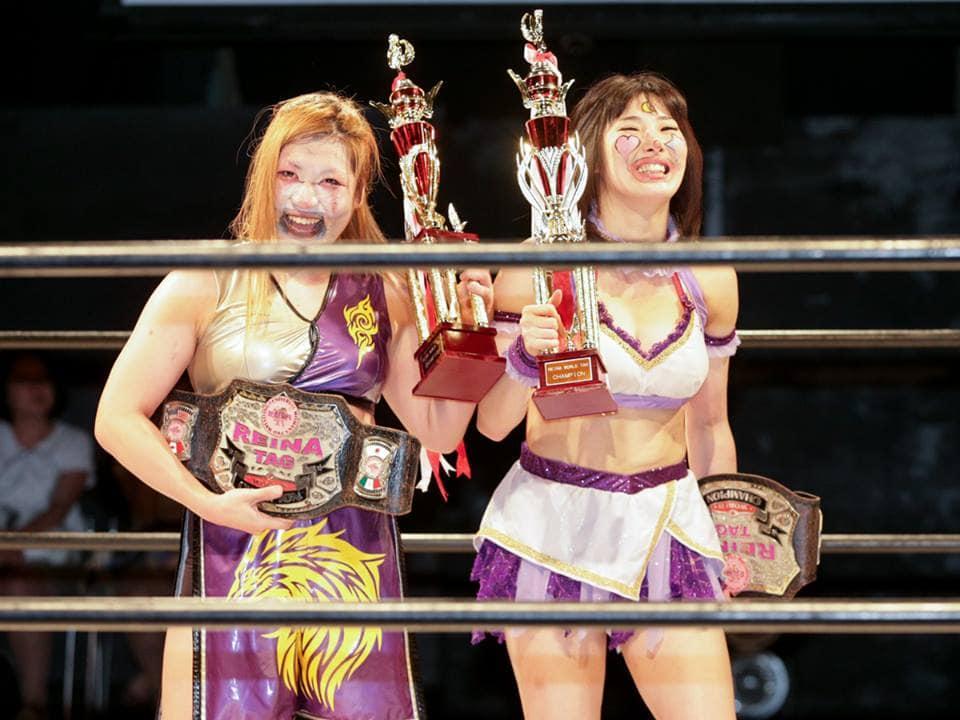 """Reina: Resultados """"Reina in Shin-Kiba 1st RING"""" - 23/06/2015 - Un título en juego 12"""