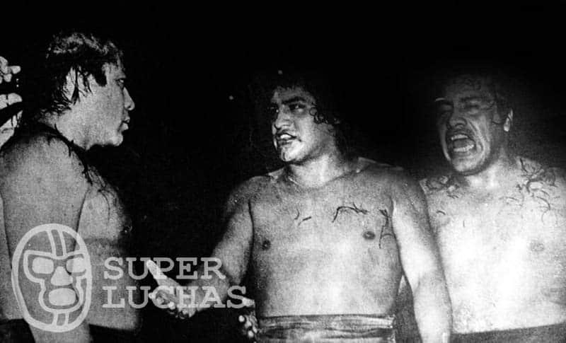 Tony Arce, Lemus II y Vulcano