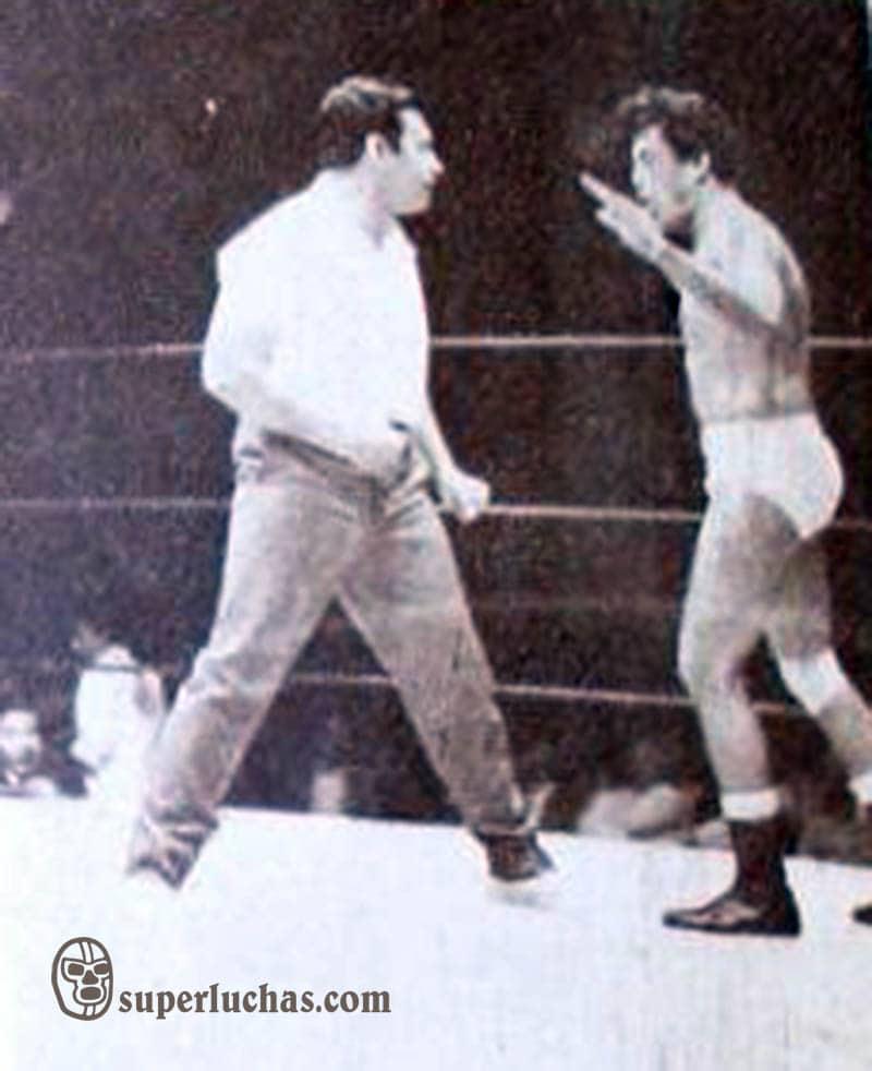 Enrique Llanes y René Guajardo