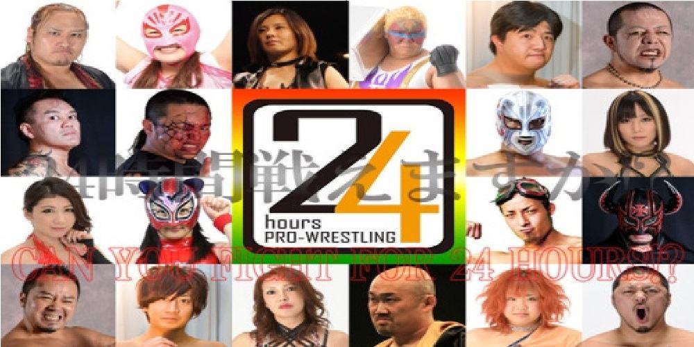 """""""24 horas de Pro Wrestling"""", la gran fiesta de la lucha libre japonesa independiente - 25 y 26/07/2015 1"""