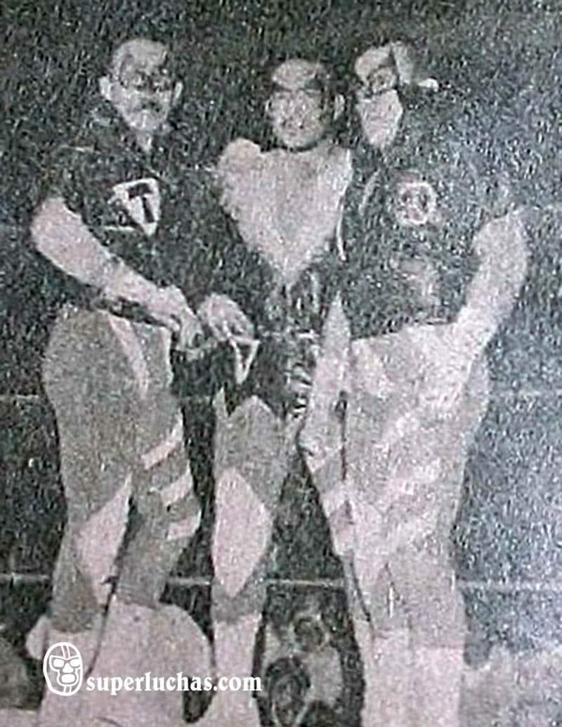 Los Temerarios: José Luis Feliciano, Lobo Rubio y Black Terry