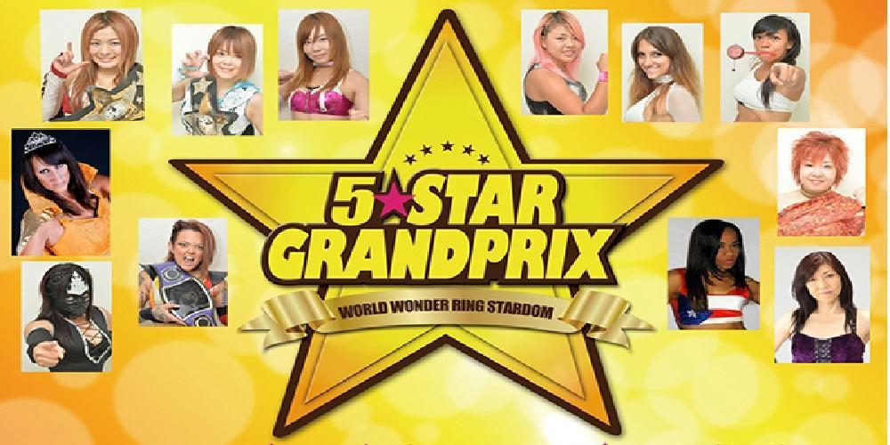 "Stardom: Se anuncia el torneo ""5 Star Grand Prix 2015"", la mexicana Starfire incluida 10"