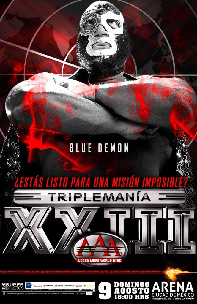 Blue Demon TMXXIII