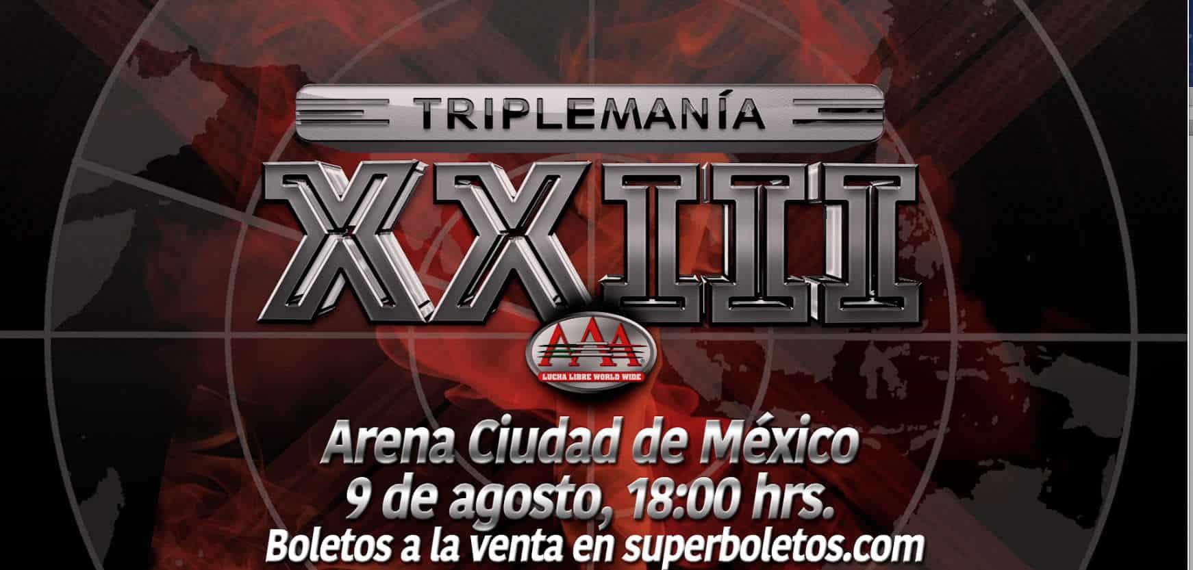 Triplemania 23 (2015) / AAA