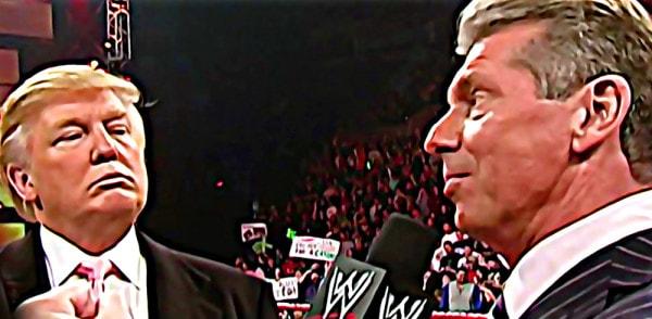 Donald Trump y Vince McMahon / WWE