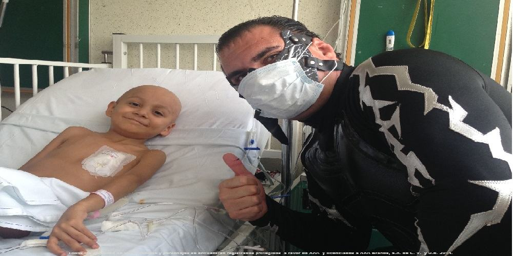 AAA: La Caravana Estelar visita el Instituto Nacional de Pediatría 2