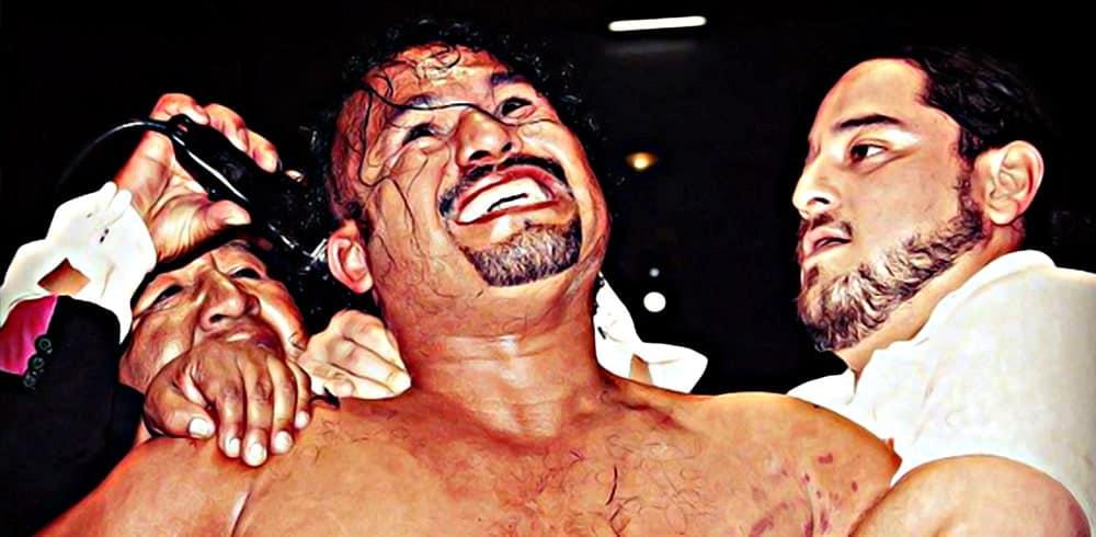 CMLL: Sin Salida — Triunfo de otro nivel: Último Guerrero se llevó la cabellera de Rey Escorpión 11