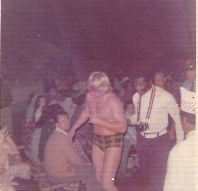 Roddy Piper 4 Bloody 1975 Houston