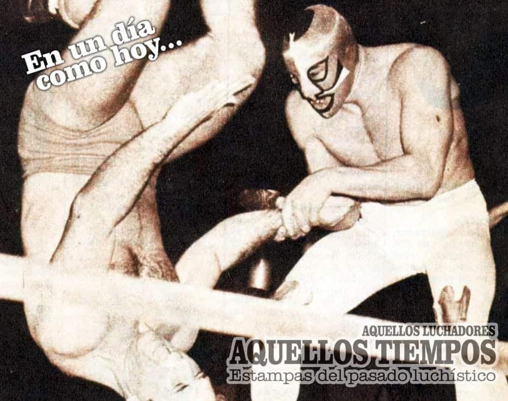 En un día como hoy... 1965: Hace medio siglo, Mil Máscaras debuta en la Arena México 16