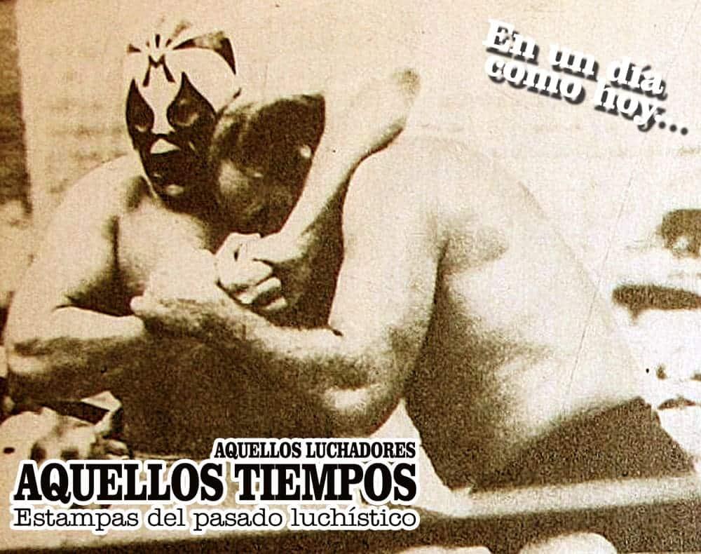 En un día como hoy... 1975: Mil Máscaras vs. Lou Thesz en la Plaza México... Caen cuatro cabelleras en una lluviosa tarde 5