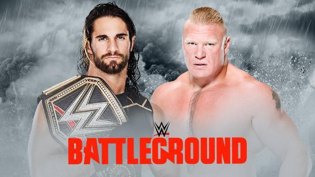 WWE Battleground 2015: Seth Rollins defiende el WWE Championship ante Brock Lesnar (19/07/2015) / WWE.com