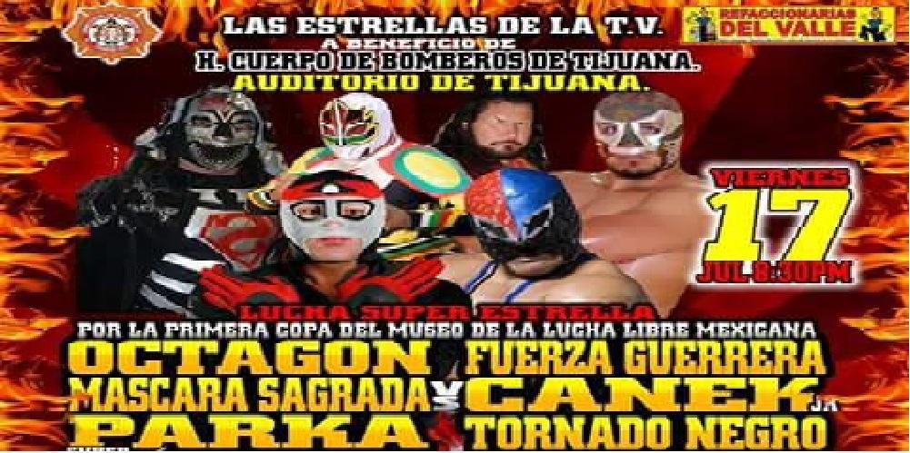 Lucha Independiente en Tijuana en apoyo a los Bombreros -17/05/2015 1