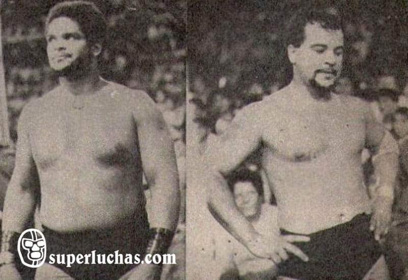 Brazo de Plata y El Brazo vs. Los Corsarios I y II