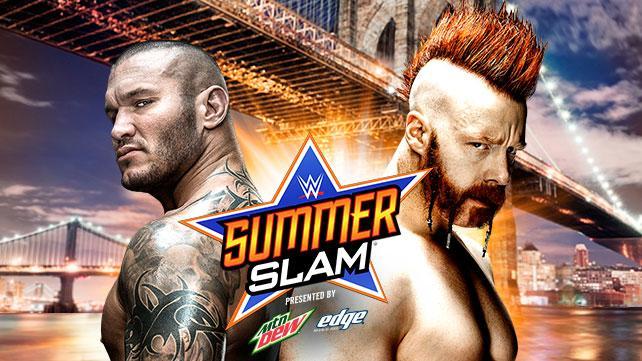 Sheamus vs Randy Orton - WWE SummerSlam