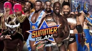 The New Day nuevos campeones de pareja WWE en SummerSlam 7