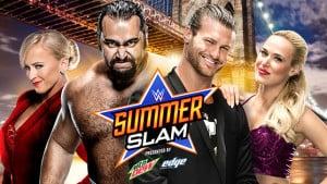 Dolph Ziggler (con Lana) vs. Rusev (con Summer Rae) en SummerSlam 2015 - wwe.com