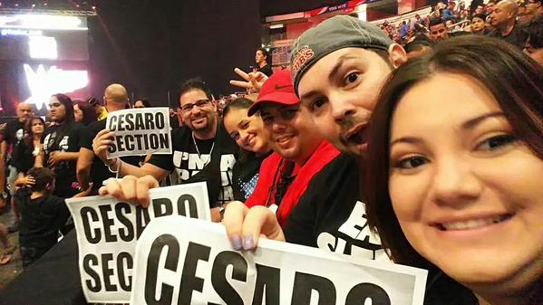 Cesaro Section en Puerto Rico - Twitter @YamilinH