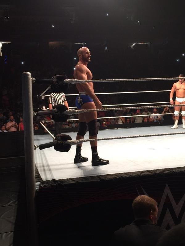 Cesaro en WWE Live Puerto Rico 2015