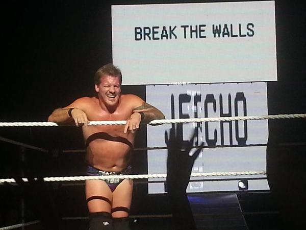 Chris Jericho en WWE Live Puerto Rico 2015