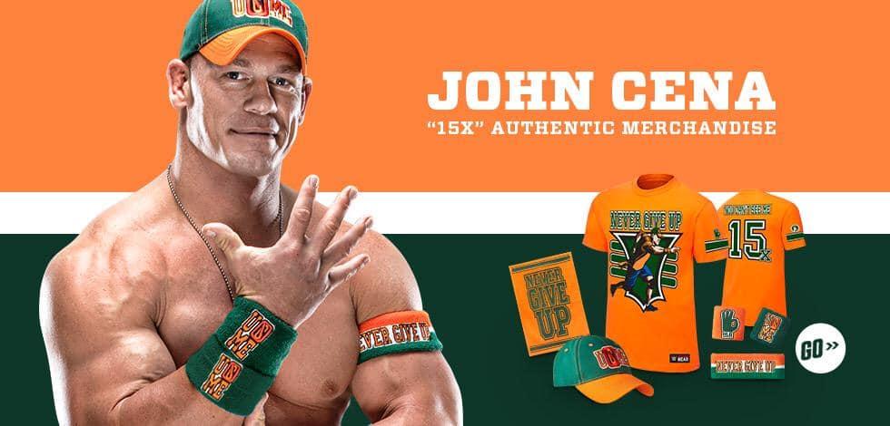 La nueva imagen de John Cena para WWE SummerSlam 2015 / WWEShop.com