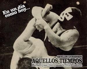 En un día como hoy... 2010: Fallece El Espanto II... 1997: Guerra de empresas: Luchadores del CMLL y de AAA a Promo Azteca 3