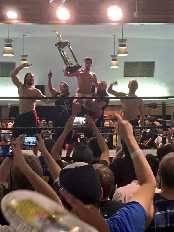 Zack Sabre Jr. PWG Battle of Los Angeles 2015