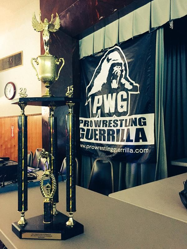 Trofeo PWG Battle of Los Angeles 2015
