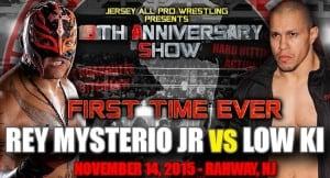 La súper fiesta de Jersey All Pro Wrestling incluirá a Rey Mysterio, los Hardys y el reencuentro de LAX 4