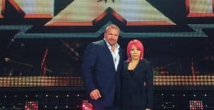 Asuka (Kana) y Triple H en NXT- Instagram @TripleH