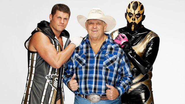 Cody Rhodes, Dusty Rhodes y Goldust / ©WWE